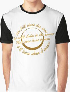 Blink 182 - Feeling This Lyrics Graphic T-Shirt
