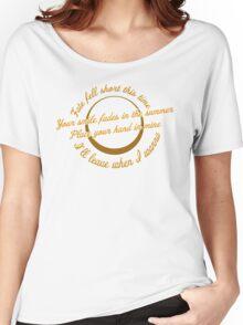 Blink 182 - Feeling This Lyrics Women's Relaxed Fit T-Shirt
