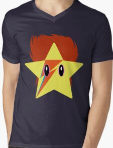 Starman Waiting in the Sky Mens V-Neck T-Shirt