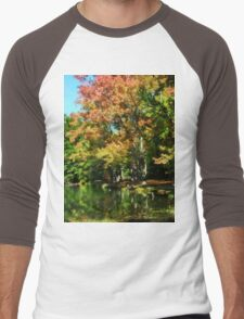 Autumn Reflections Men's Baseball ¾ T-Shirt