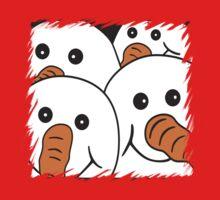 Gang of Four Snowmen One Piece - Short Sleeve