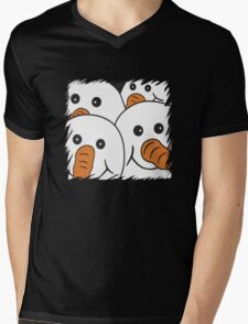 Gang of Four Snowmen Mens V-Neck T-Shirt