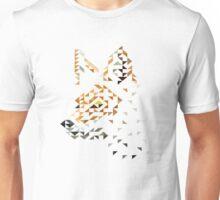 Red Fox Fractal Unisex T-Shirt