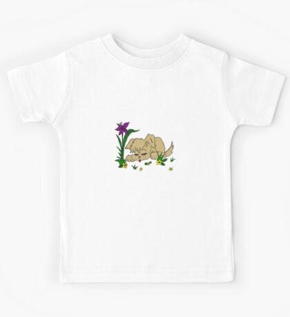 Sleeping Puppy Kids Tee