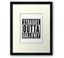 Doctor Who - gallifrey Framed Print