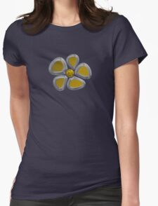 Flower 9 Womens Fitted T-Shirt