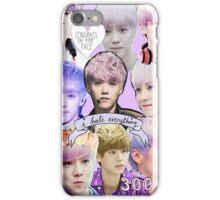 Luhan|Purple Collage iPhone Case/Skin