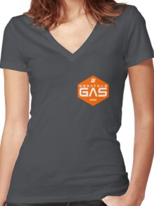 Beratnas GAS company - The Expanse Women's Fitted V-Neck T-Shirt