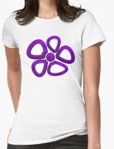 Flower 10 Womens Fitted T-Shirt