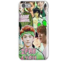 Luhan|Green Collage iPhone Case/Skin