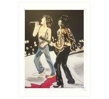 Mick & Keith Art Print