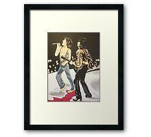 Mick & Keith Framed Print