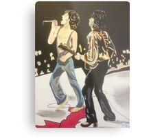 Mick & Keith Metal Print
