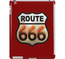 Route 666 iPad Case/Skin