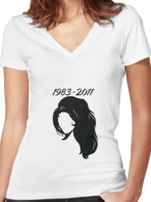 Amy Tribute Women's Fitted V-Neck T-Shirt