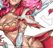 Cupid Clara Sticker