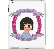 Crap Attack // Tina Belcher iPad Case/Skin