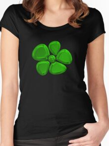 Flower 11 Women's Fitted Scoop T-Shirt