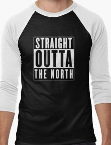 Game of thrones - The North Men's Baseball ¾ T-Shirt