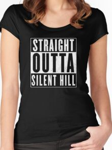 Silent Hill – Silent Hill Women's Fitted Scoop T-Shirt