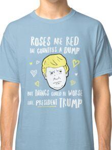 Donald Trump Valentines Day Card Classic T-Shirt
