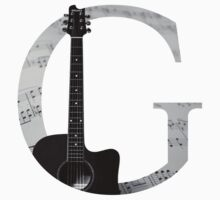 G for Guitar Kids Clothes