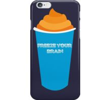 Freeze Your Brain-Heathers The Musical iPhone Case/Skin
