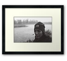 Portrait of an Adventurer Framed Print