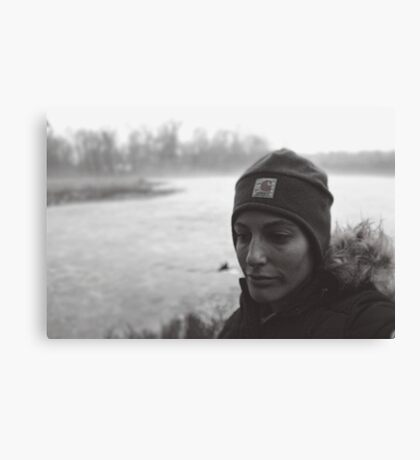 Portrait of an Adventurer Canvas Print