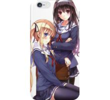 How to raise a boring girlfriend iPhone Case/Skin