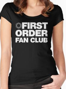 First Order Fan Club Women's Fitted Scoop T-Shirt