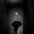 Night walk in the rain by JBlaminsky