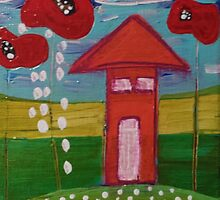 Poppy House by tremblayart