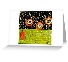 Firefly House Greeting Card