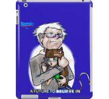 Bernie Sanders hugging a cat-girl iPad Case/Skin