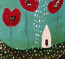 Poppy Lane by tremblayart
