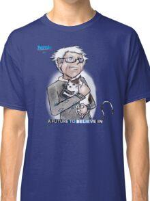 Bernie Sanders hugging a cat. Classic T-Shirt