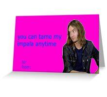 Tame Impala Valentine Greeting Card