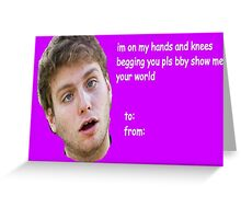 Mac Demarco Valentine #2 Greeting Card