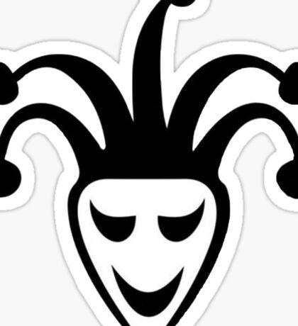 Justin Bieber - Joker Tattoo (without white background) Sticker