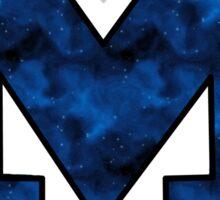 Dark M Sticker