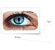 Great Eye Pop Art, Graphic! Postcards