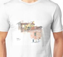 Venice, via Garibaldi rooftops Unisex T-Shirt