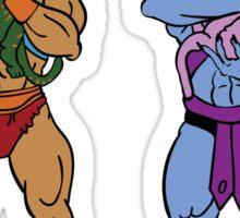 He-Man and Skeletor Snuggle Break Sticker
