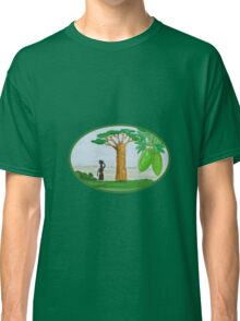 Baobab Tree and Fruit Watercolor Classic T-Shirt