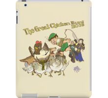 The Great Chicken Run 2016 iPad Case/Skin