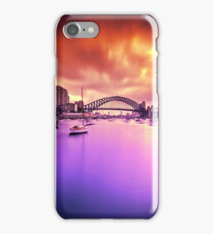 Lavender Bay Colours  iPhone Case/Skin