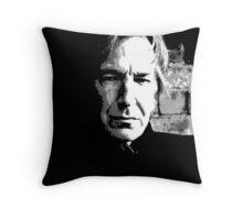 Alan Rickman Artist Throw Pillow