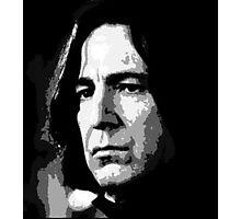 Alan Rickman Severus Photographic Print
