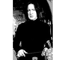 Alan Rickman Snape Photographic Print